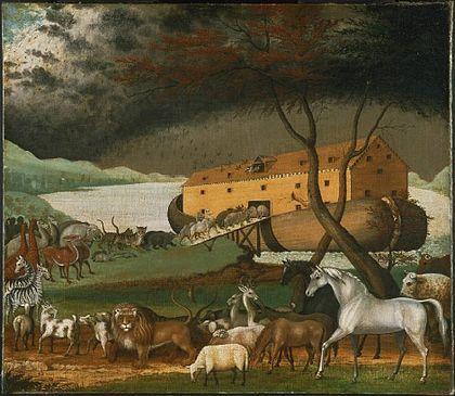 Noé bárkája (Edward Hicks festménye)